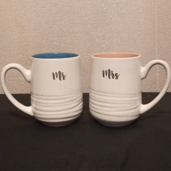 Mr And Mrs Couple Coffee Cups
